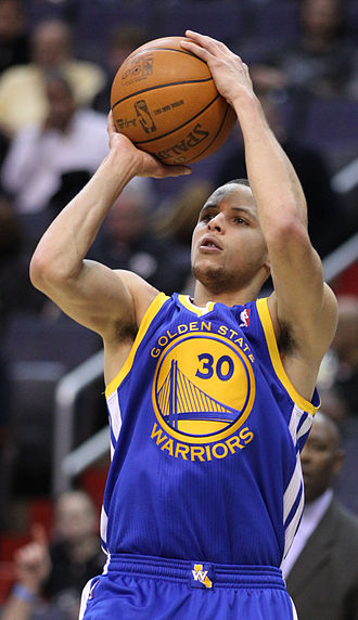 Three-point field goal - Stephen Curry currently holds the record for most three-point field goals in an NBA regular season with 402.