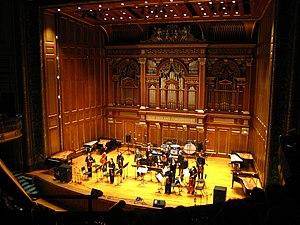 Triple Quartet - Performance of Triple Quartet, at New England Conservatory, 2007