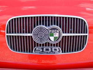 Steyr-Daimler-Puch - Logo of Steyr-Puch on the Puch 500