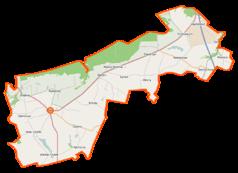 Mapa lokalizacyjna gminy Stolno