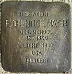 Stolperstein Böchingen Mayer Florentine geb Mendel.jpeg
