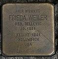 Stolperstein Frieda Weiler Kassel.jpg