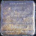 Stumbling block for Lotte S. Sealing wax (Thieboldsgasse 134)