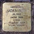 Stolperstein Kaubstr 9 (Wilmd) Nachum Bloch.jpg