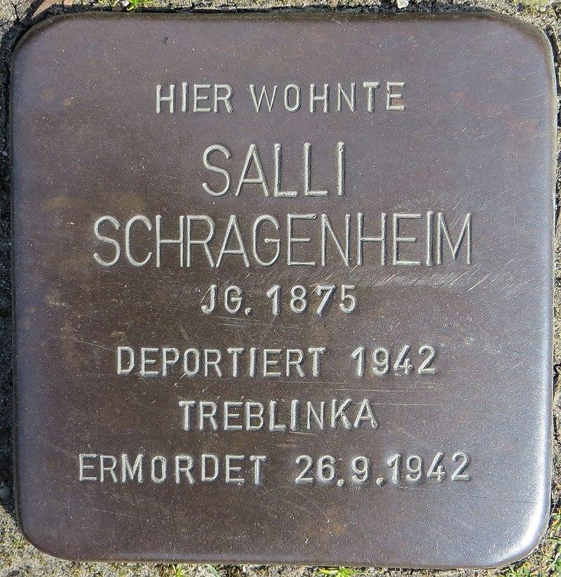 Stolperstein Schragenheim, Salli - Nordstr. 7-8, Sehnde.jpg