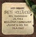 Stolperstein Seesener Str 50 (Halsee) Grete Holländer.jpg