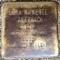 Stumbling block for Erna Nanette Auerbach (Alteburger Straße 11)