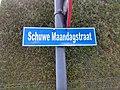 Straatnaambordje Schuwe Maandagstraat in Roeselare.jpg