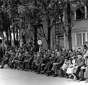 Inter-Enterprise Strike Committee - Lenin Shipyard employees on strike in August 1980