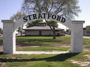 Stratford, California - Stratford, California
