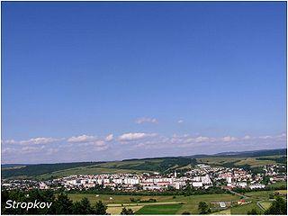 Stropkov Town in Slovakia