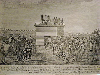 Johann Friedrich Struensee - Public execution of Struensee on 28 April 1772
