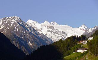 Stubaital - Stubaital and the Stubai Glacier in Tyrol, Austria