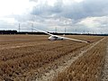 Stubble Field with Glider - geograph.org.uk - 223914.jpg