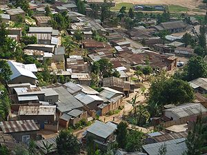 This is a photo of a suburb of Kigali in Rwanda