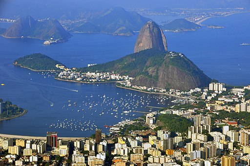 Sugar loaf from Cristo Redentor 2010