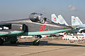 Sukhoi Su-25SM Frogfoot 06 red (8584628804).jpg