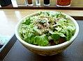 Sukiya Ceasar lettuce butadon.jpg