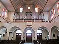 Sulzbach (Saar) Pfarrkirche Allerheiligen Innen Orgelempore.JPG