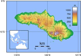 Sumba island in Indonesia