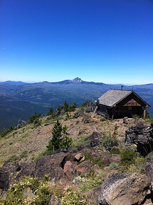 Black Butte (Oregon) - The summit of the butte