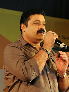 Suresh Gopi Indian actor and politician