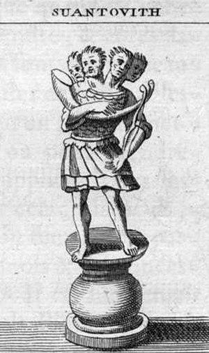 Svetovid - Svetovid by benedictine monk Bernard de Montfaucon, 1722