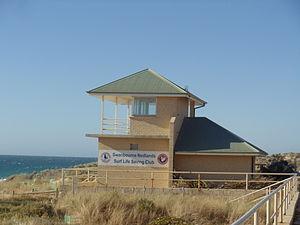 Swanbourne, Western Australia - Swanbourne Nedlands Surf Life Saving Club building.