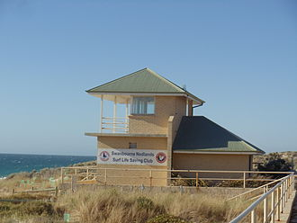 Swanbourne, Western Australia - Swanbourne Nedlands Surf Life Saving Club building.