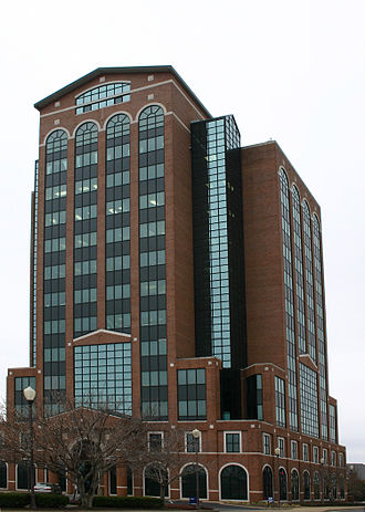 Murfreesboro, Tennessee - City Center, built by Joseph Swanson, a major developer in the area.