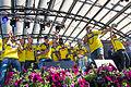 Sweden national under-21 football team celebrates in Kungsträdgården 2015-18.jpg