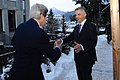 Swiss President Burkhalter Greets Secretary Kerry in Davos (12117090476).jpg