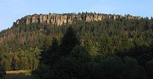 Stołowe Mountains - Image: Szczeliniec wielki