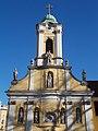 Szent Rókus-kápolna, homlokzati szobrok, 2017 Palotanegyed.jpg