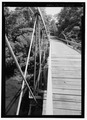 TRUSS DETAIL FROM CENTER OF SOUTH SPAN, LOOKING NORTH-NORTHEAST. - Shaw Bridge, Claverack, Columbia County, NY HAER NY,11-CLAV,3-5.tif