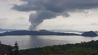 2020 Taal Volcano eruption Volcanic eruption in the Philippines