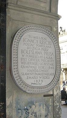 Ignacy Rzecki Wikipedia Wolna Encyklopedia