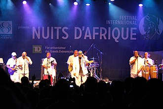 Tabou Combo - Tabou Combo at the 2014 Festival International Nuits d'Afrique in Montréal