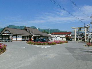 Taga Taisha-mae Station Railway station in Taga, Shiga Prefecture, Japan
