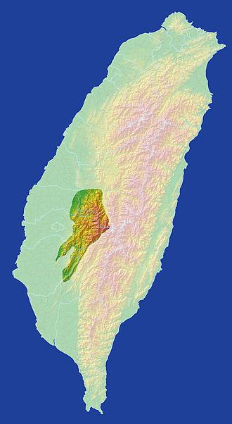 Alishan Range - Alishan Range area in Taiwan