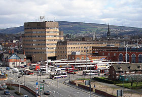 Tameside Council Offices, in Ashton-under-Lyne (building demolished in Summer 2016)