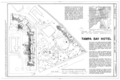 Tampa Bay Hotel, 401 West Kennedy Boulevard, Tampa, Hillsborough County, FL HABS FLA,29-TAMP,3A- (sheet 1 of 13).png