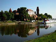 Tangermünde - Burg über der Elbe, Ausflugsschiff