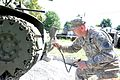 Tank renovation teaches soldiers history 150915-A-NU174-009.jpg