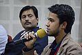 Tanweer Morshed - Open Discussion - Collaboration among Bengali Language Wikipedians of Bangladesh and West Bengal - Bengali Wikipedia 10th Anniversary Celebration - Jadavpur University - Kolkata 2015-01-09 2993.JPG