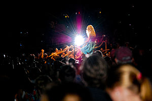 "Fifteen (song) - Swift performing ""Fifteen"" during the Fearless Tour in 2009."