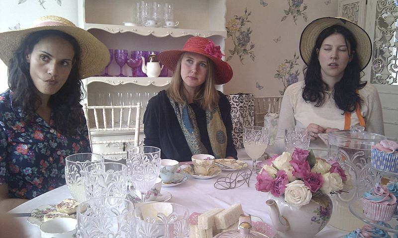 File:Tea party With Hats.jpg