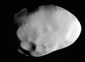 Telesto (moon) - Telesto as seen by the Cassini probe in October 2005