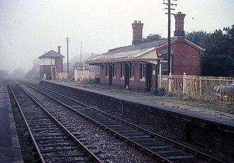 Templeton, Pembrokeshire - Templeton Station