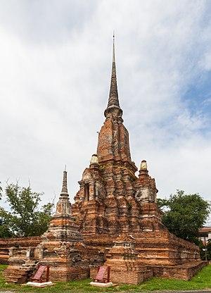 Yanasen Temple, Ayutthaya, Thailand.